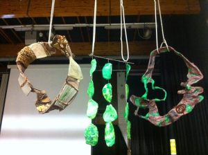 Transforming nature hangings